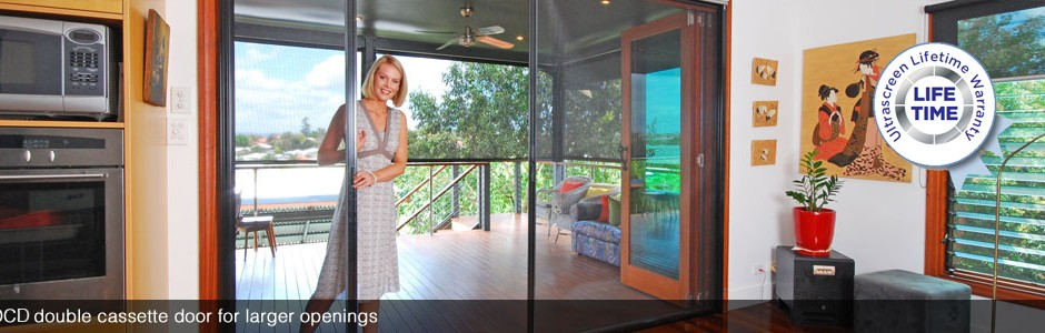retractable door flyscreens