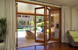bi fold- door fly screens